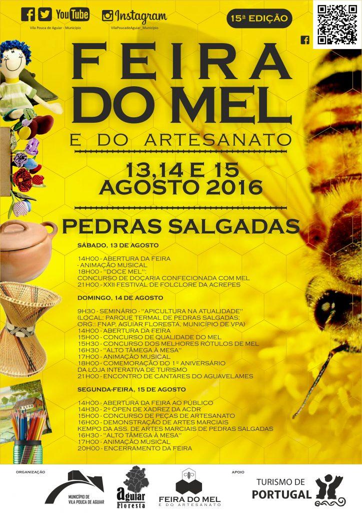 CARTAZ FEIRA DO MEL 2016