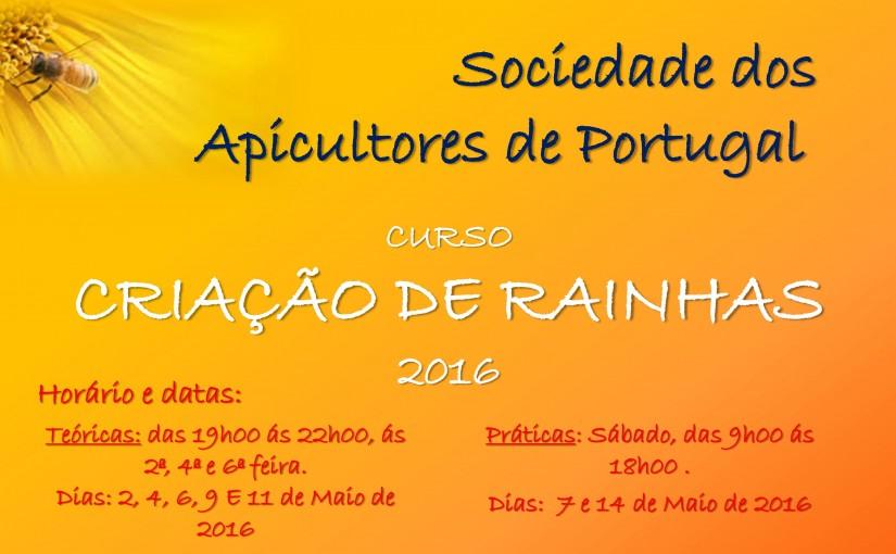 SAP organiza Curso de Criação de Rainhas